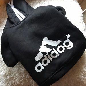 Adidas! Adidog! Outfit!